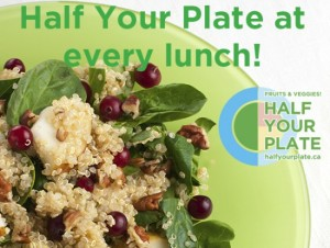 Fill Half Your Plate at Lunch!