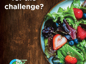 Challenging Your Eating Habits with the Half Your Plate Challenge!