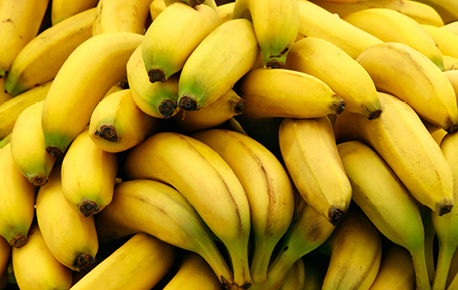 You'll find bananas all year round in your grocery store.