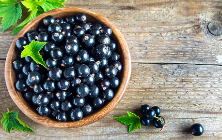 Look for firm, dry berries with a nice black colour.