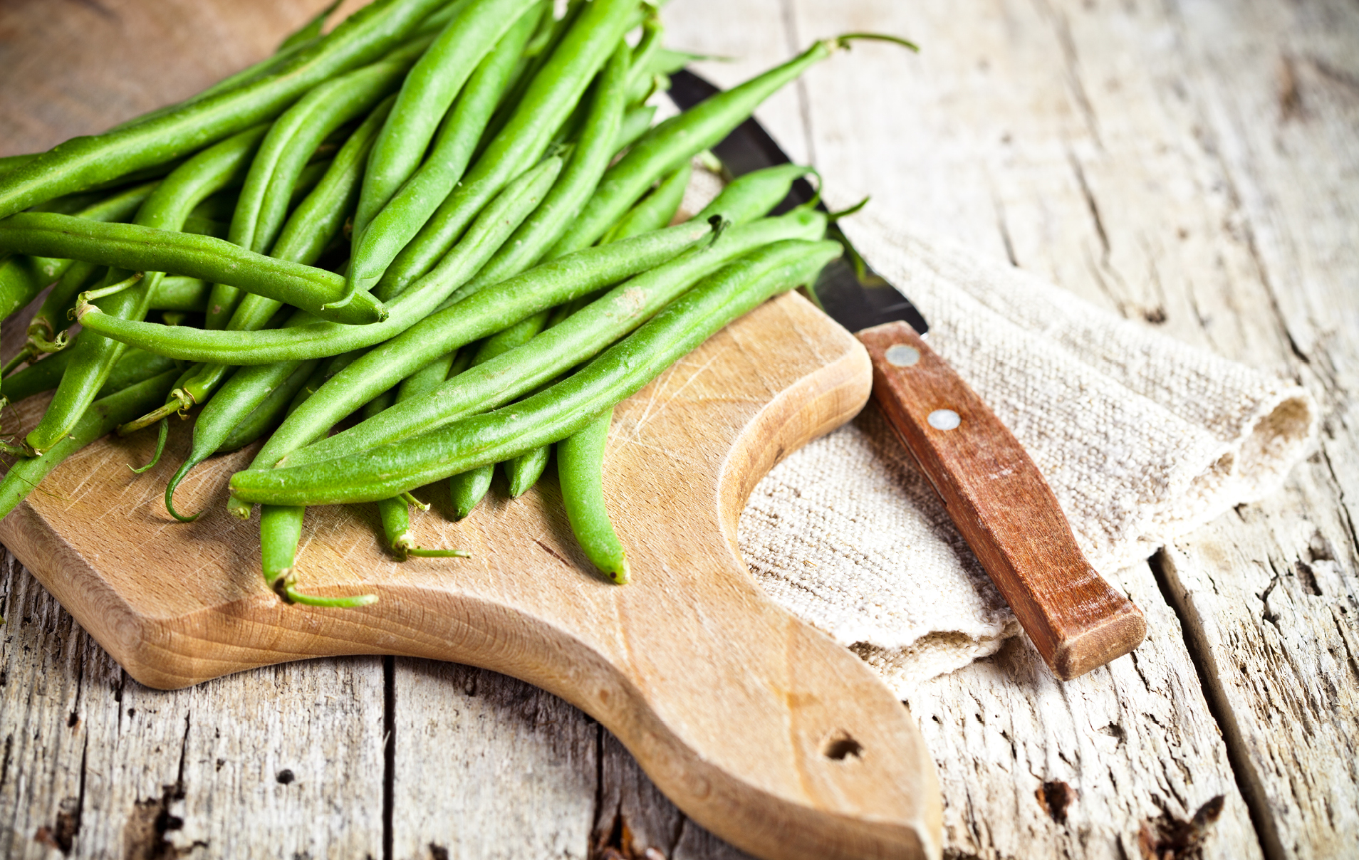 Add sliced almonds, pecans or pine nuts to make your green beans a special side dish