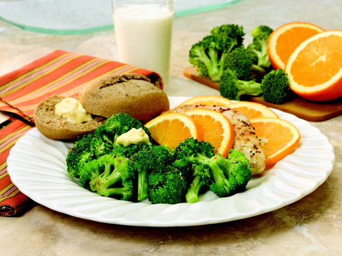 Herbed Chicken with Broccoli