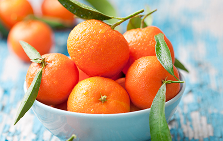 Mandarin oranges are perfect on their own or added to a salad!