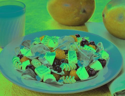 Mango Berry Rotini Salad