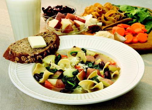 Mediterranean Potato Soup