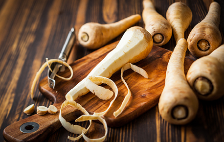 Smaller sized parsnips are generally sweeter.