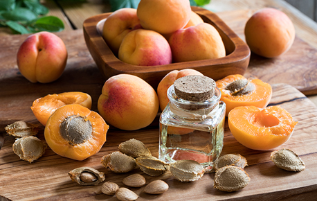 Leave apricots out at room temperature until they are ripe.