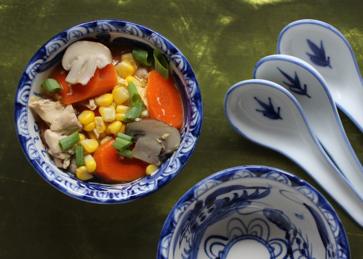 asian-style-chicken-corn-soup