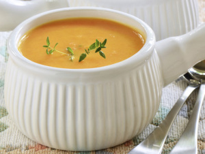 Carrot and Squash Ginger Soup