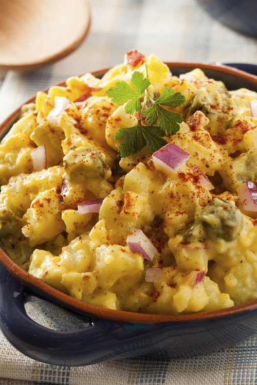 Curried Egg and Potato Salad