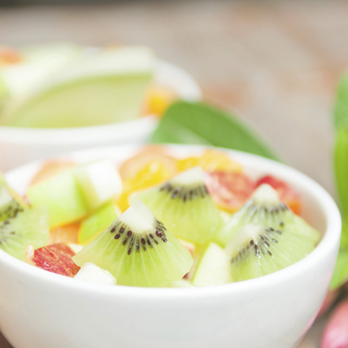 Honey Lime Fruit Toss