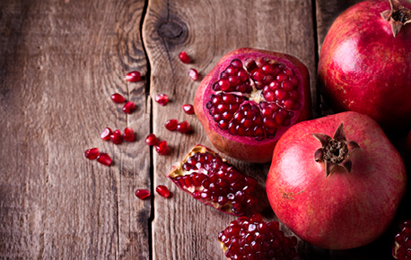 Pomegranate seeds can be used in cooking, baking, salads and as a garnish.