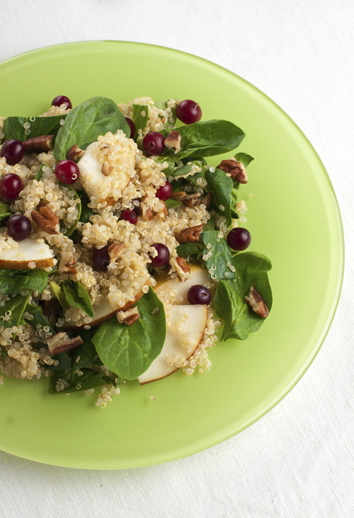 Quinoa and Cranberry Pilaf