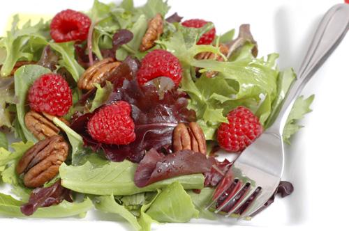 Raspberry Poppyseed Salad