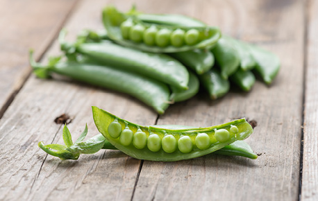 Snap peas make the perfect grab 'n go snack!