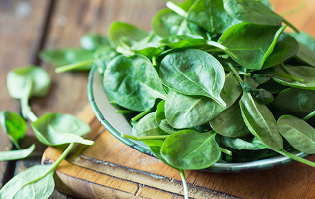 A pound of fresh spinach will shrink down to about a cup (250 mL) cooked.
