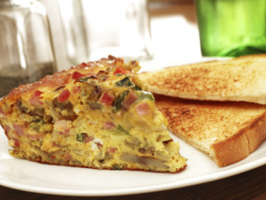 Savory Half Your Plate Breakfast!