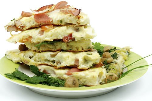 Western Omelette Stack for Two