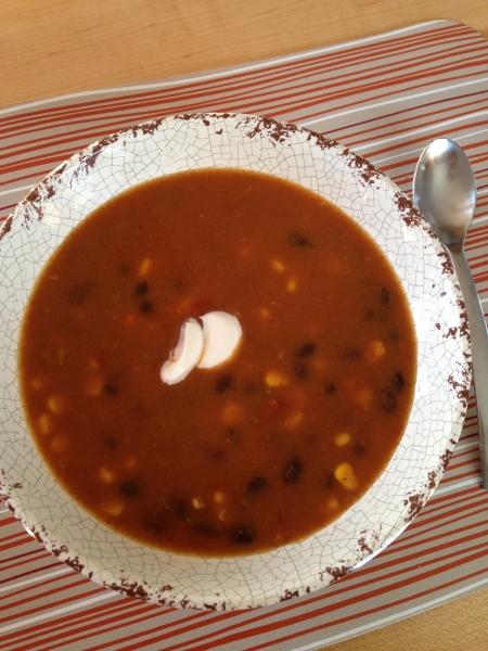 Salsa Pumpkin Soup - Laurie Barker Jackman