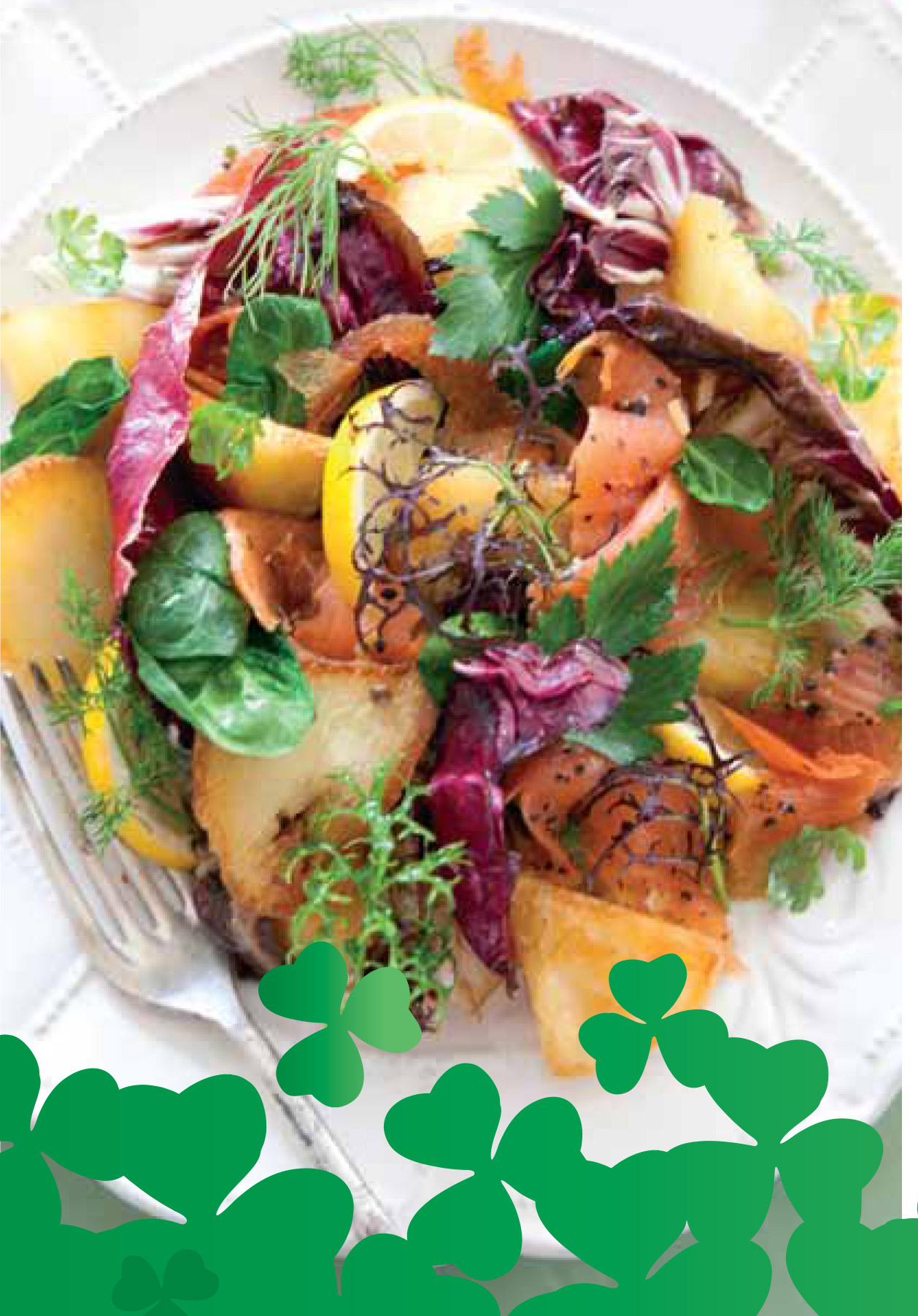 St Patrick's Day Warm Salad