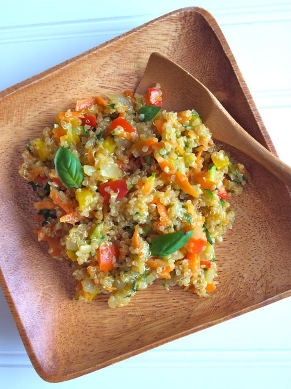Vegetable Confetti Quinoa
