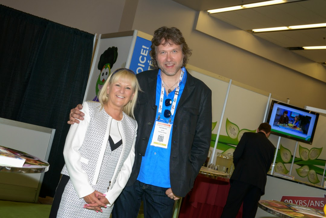Michael Smith and Bernadette