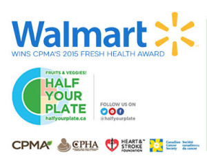 Walmart Canada Recognized for their Support of Half Your Plate