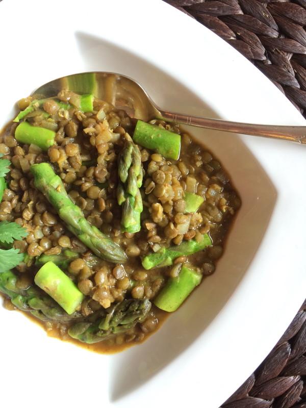 Asparagus Lentil Curry