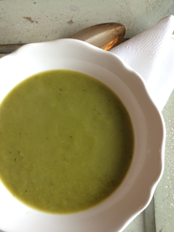 Dairy Free Cream of Asparagus Soup
