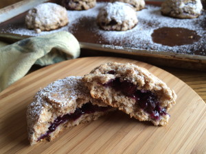 Blueberry filled scones