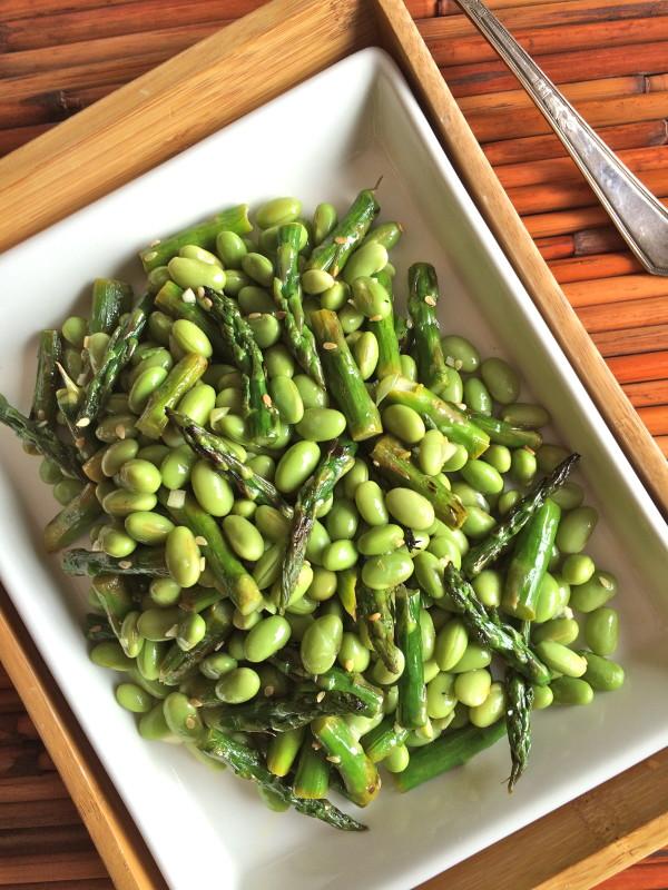 Edamame and Asparagus Salad
