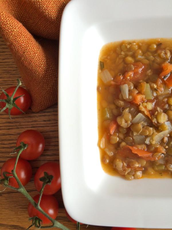 Rosemary Lentil Soup