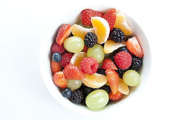 Salade de fruits simple