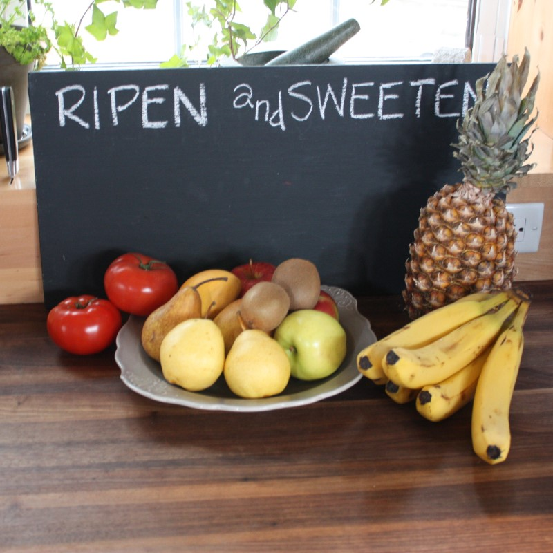 Ripen and sweeten