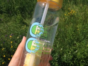 Liven up your water with fruits and veggies!