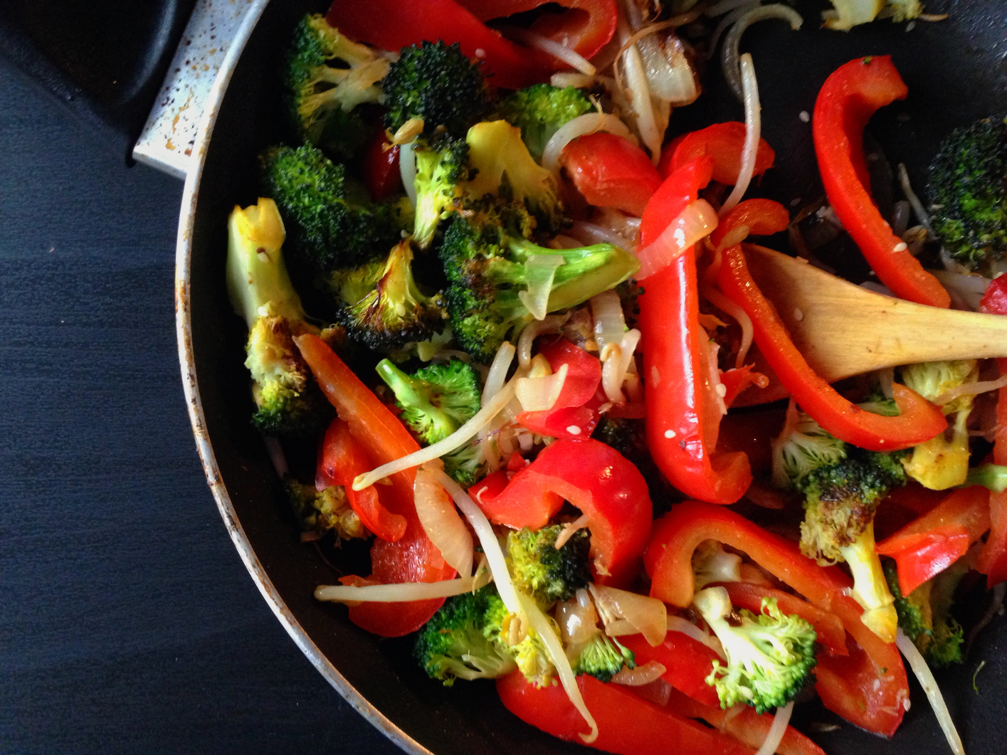 Sauté your veggies!