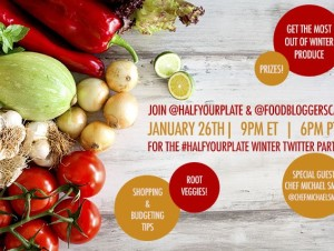 Twitter Party Celebrating Winter Produce!