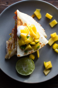 Jamaican-Shrimp-Quesadillas-with-Mango-Salsa