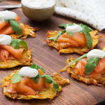 Potato Rösti with Smoked Salmon