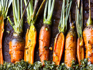 Maple Garlic Carrots by Jessica in Kitchen
