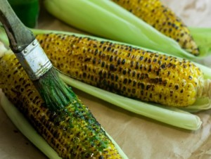 Corn on the cob from Yummily Yours