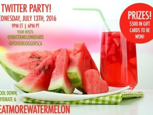 All About Watermelon and Twitter Party