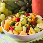 Salade de fruits grillées