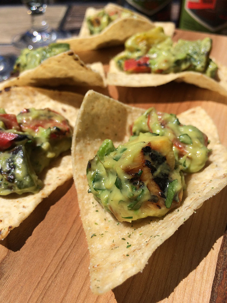 Pineapple Pepper Guacamole