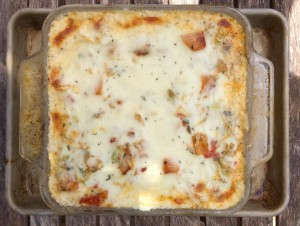Squash and Tomato Cabbage Lasagna