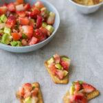 Strawberry Basil Salsa