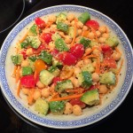Veggie Loaded Chickpea Salad