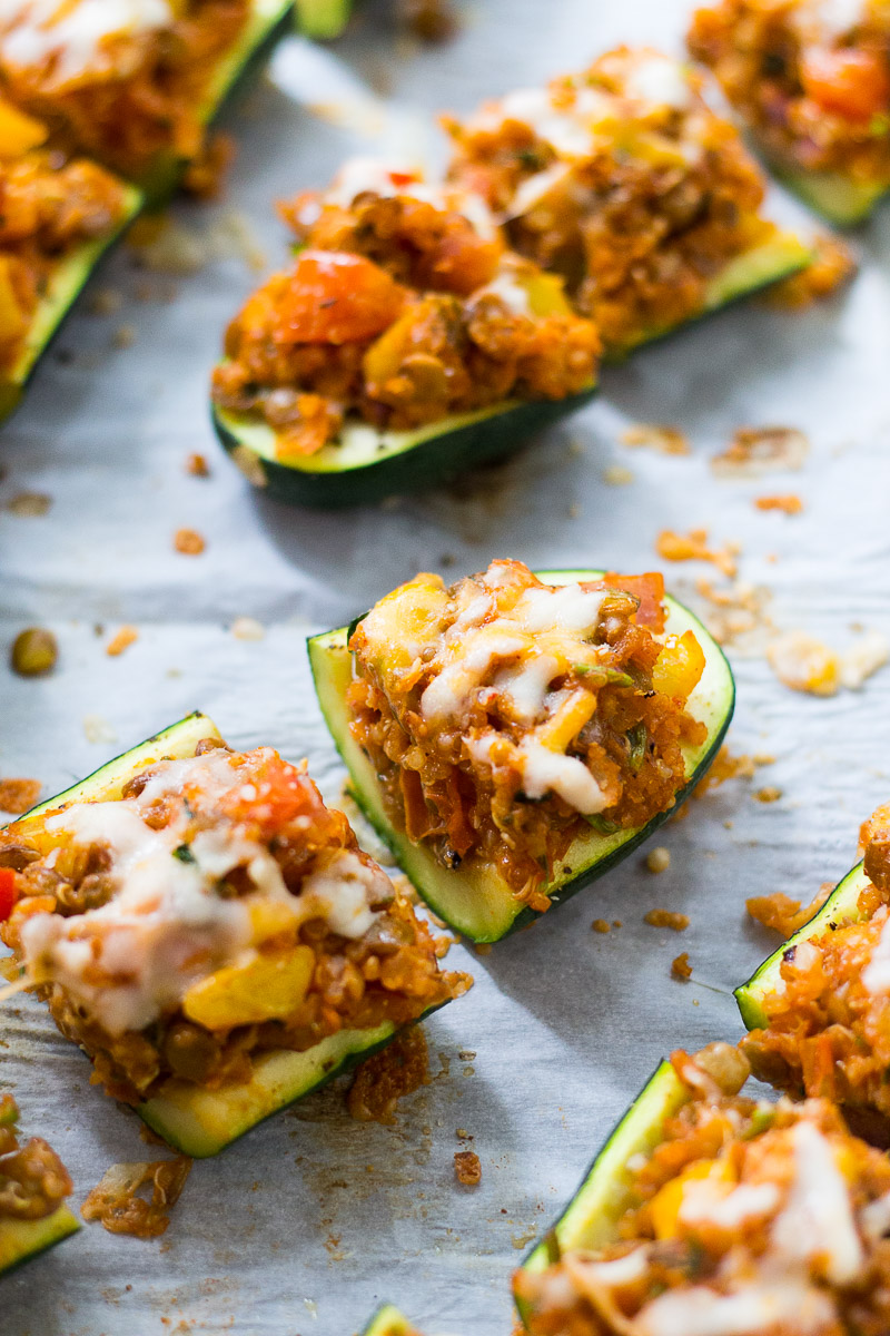 Mexican Inspired Zucchini Boats by Taylor Stinson