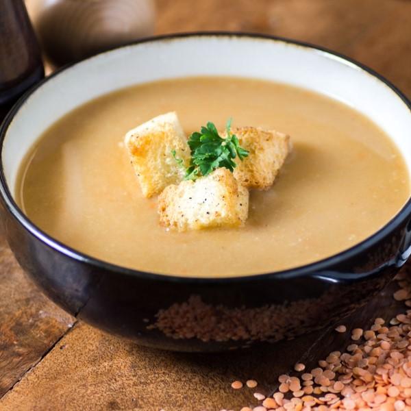 Slow Cooker Carrot Leek Lentil Soup
