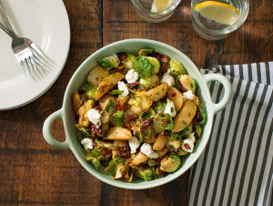 Warm Potato and Brussels Sprout Salad